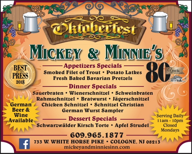 Mickey And Minnies Inn 733 West White Horse Pike 609 965 1877